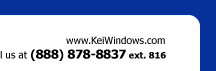 www.keiwindows.com - Call us at (888) 878-8837 ext. 816